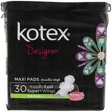 Kotex Designer Pads Kotex Designer Maxi Pads 30 Super Wings Mercatco