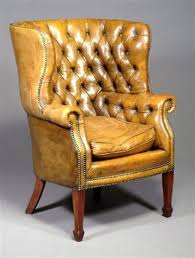 Yellow leather chair Modern Gold Leather On This Fabulous Old Wingback Sita Bit Pinterest Chair Wingback Chair And Beautiful Bedrooms Pinterest Gold Leather On This Fabulous Old Wingback Sita Bit