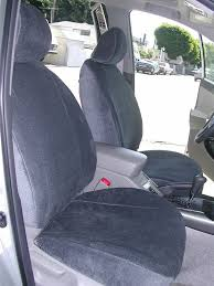 madrid charcoal custom front seat covers