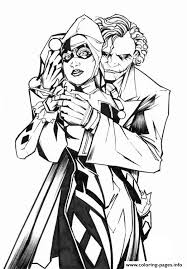 By best coloring pagesjuly 31st 2017. Cartoon Hight Definition Adult Harley Quinn Coloring Pages Printable