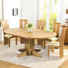 round extending oak dining table and chairs solid oak extending round dining table with 6 chairs