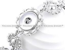 2 of 5 10pcs lot whole vocheng snap jewelry 18mm on charm bracelet nn 347 10