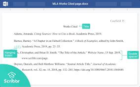 mla works cited 2021 guidelines