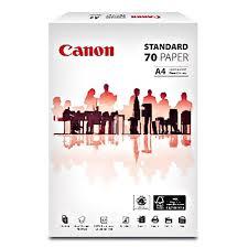 <b>CANON STANDARD PAPER</b> A4 70G <b>FSC</b>   Shopee Malaysia