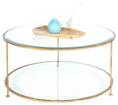 glass and brass coffee table blue vase round brass coffee table ceramics circle steel metal golden glass and brass coffee table