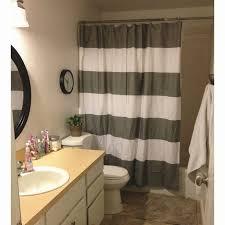 Giraffe Bathroom Decor West Elm Shower Curtain Gray Stripe