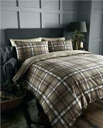 red tartan bedding flannel duvet cover king set plaid sheets and sham red tartan for flannelette