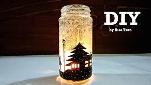 Decorating Candle Jars Aira Tran DIY Christmas Decorations Candle Jars 32