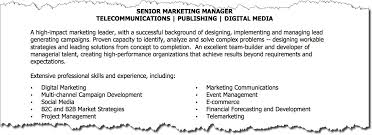 How To Write A Killer Marketing Resume Target Marketing