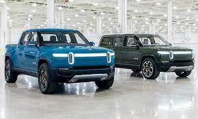 Pick-up Rivian R1T & Rivian R1S (2021 ...