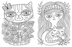 best cat coloring book pages collection for kids within acpra free line easter eggs printable s
