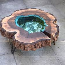 awesome resin wood table that will make