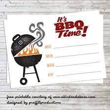 Barbeque Invitation Printable Tickets For Bbq Download Them Or Print