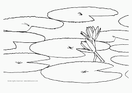 Small Picture Flower Water Coloring Pages Spring coloring pages Free Printable