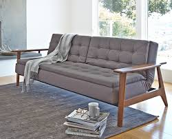 wooden furniture living room designs. Plain Room Sleeper Sofa Ikea Designed To Match Living Room Tufted Leather  In Grey On Wooden Furniture Room Designs