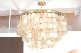 home improvement capiz s chandelier photo gallery of shell viewing photos world market beauty for