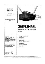 manual garage door opener