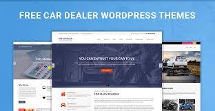 Free Car Dealer Wordpress Themes For Car Dealers Websites