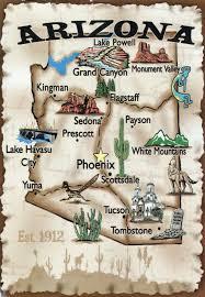 travel illustrated map of arizona arizona travel illustrated map Travel Map Of Arizona travel illustrated map of arizona arizona travel illustrated map travel map of arizona and utah