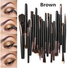 20pcs makeup brushes set powder foundation eyeshadow eyeliner lip brush professional makeup for mac makeup kit