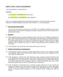Loan Repayment Contract Free Template New Loan Repayment Agreement Template