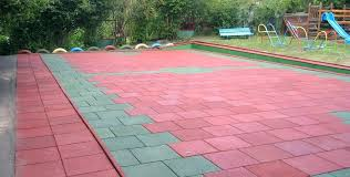 rubber landscaping pavers