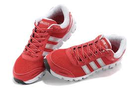 adidas red shoes. red white adidas men running shoes climacool caterpillar