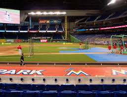 Marlins Stadium Seating Chart Marlins Park Section 20 Seat Views Seatgeek