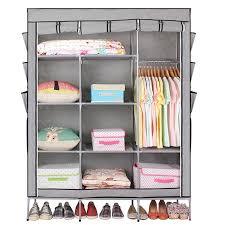 42 53 69 portable closet storage organizer clothes wardrobe