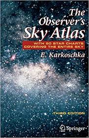 Star Chart Book The Observers Sky Atlas With 50 Star Charts Covering The