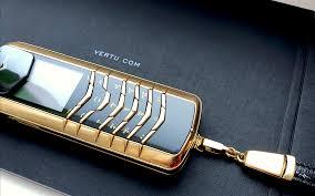 VERTU SIGNATURE M PURE 18K 750 GOLD ...