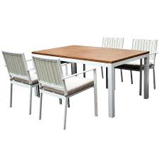 modern patio dining set white 5 piece modern patio dining set modern outdoor dining set canada