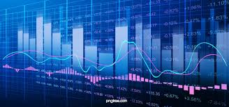 Isol Stock Chart Stock Market Data Index Background Stock Market Background