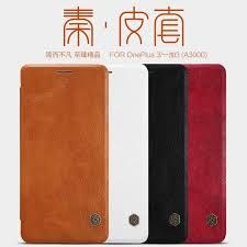 nillkin qin leather case oneplus 3
