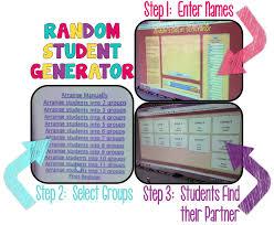 Seating Chart Randomizer Random Student Generator
