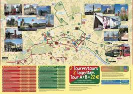 map of berlin tourist attractions sightseeing  tourist tour