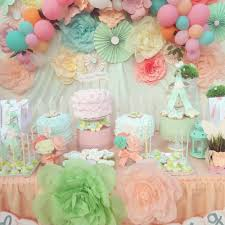 Fairy Birthday Party Decorations Fairy Birthday Party Ideas Pastel Birthdays And Birthday Party