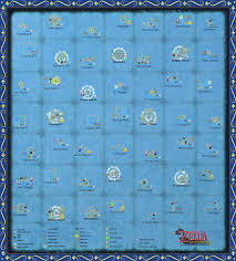 the wind waker full sea chart (very large scale) by zantaff on