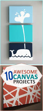 10 Awesome Canvas Projects that Will Amaze. Easy Canvas ArtCanvas ...
