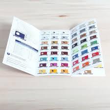 Saphir Colour Chart The Shoecare Shop