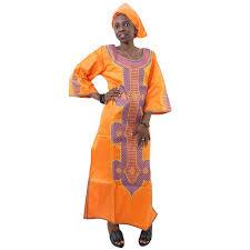 <b>MD african dresses</b> for women ladies <b>dashiki</b> wax dress with headtie ...