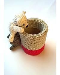 office pen holder. Crochet Pen Holder - Cute Desk Accessories Amigurumi Pencil Office Decor I
