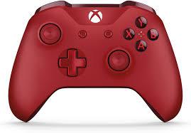 <b>Microsoft Xbox One Wireless</b> Controller, Red, WL3-00027 - Walmart ...