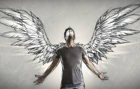 фото ангела с крыльями мужчины