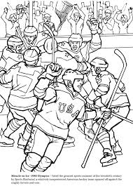Small Picture GOAL The Hockey Coloring Book Dover Publications Coloring the