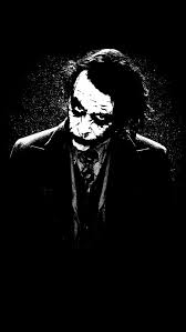 the joker batman black white painting art iphone 5s wallpaper