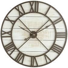 big rustic wall clocks oversize white rustic wall clock extra large rustic wall clocks