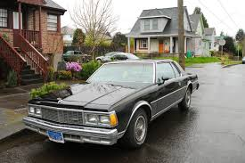 OLD PARKED CARS.: 1979 Chevrolet Caprice Landau.