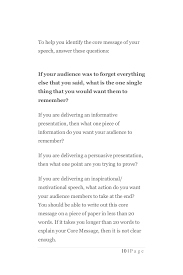 speech writing how to write a persuasive speech quickly 9 page 10