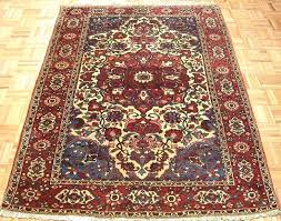 4x6 oriental rugs antique oriental tribal hand knotted wool ivory rug carpet in antiques rugs 4